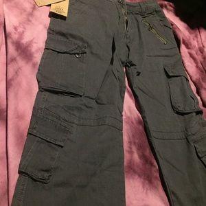 Pants - Dark Gray Cargo Pants
